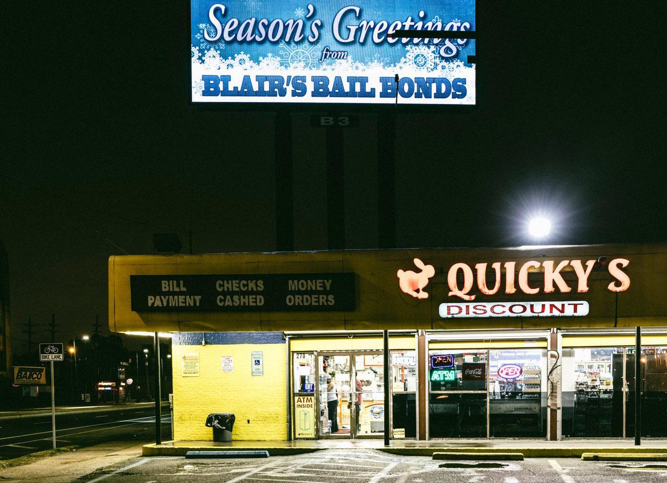 Bail Bond shop front